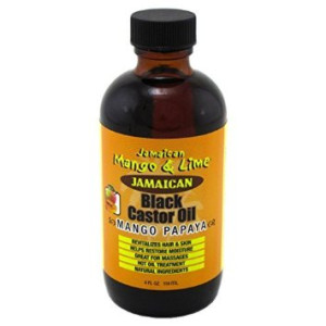 Jamaican Mango & Lime Jamaican Mango and Lime Black Castor Oil (Mango Papaya) 4oz