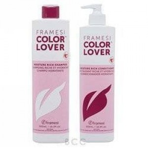Framesi Color Lover Moisture Rich Shampoo and Conditioner Duo Set 16.5 oz bottles