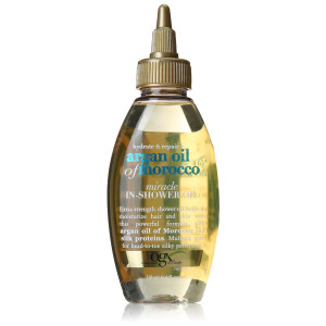 OGX Hydrate Plus Repair Argan Oil of Morocco Extra Strength Miracle in Shower Oil, 4 Ounce
