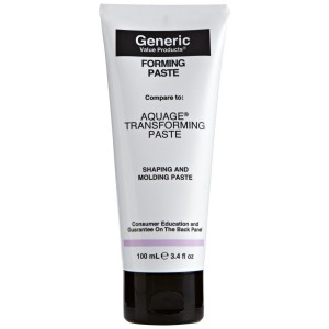 Generic Value Products Forming Paste compared to Aquage Transforming Paste