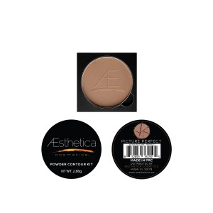 Aesthetica Cosmetics Powder Refill for Contour and Highlighting Powder Foundation Palette, Color: Cameo