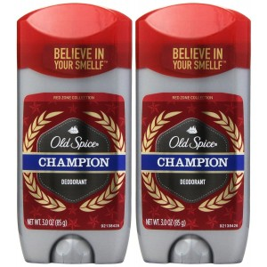Old Spice Red Zone Champion Scent Men's Deodorant 3 Oz (Pack of 2)