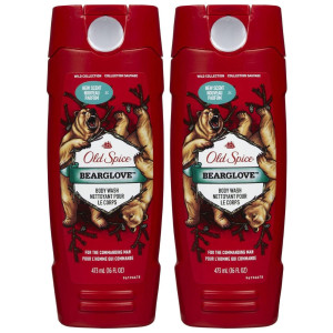 Old Spice Wild Men's Body Wash - Bearglove - 16 oz - 2 pk