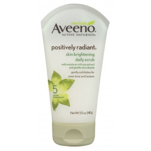 (2 Pack) Aveeno Positively Radiant Skin Brightening Daily Scrub, 5 Ounce Ea.