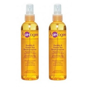 ApHogee Keratin and Green Tea Restructurizer 2 Pack of 8 fl. oz
