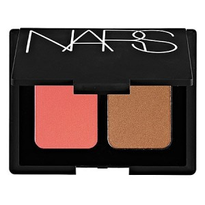 "NARS DUO BLUSH / BRONZER "" DEEP THROAT / LAGUNA "" FULL SIZE IN RETAIL BOX"