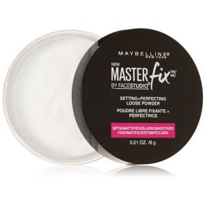 Maybelline New York Facestudio Master Fix Setting Plus Perfecting Powder, Translucent, 0.21 Ounce