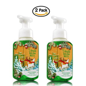 Bath & Body Works Bath and Body Works Vanilla Bean Noel Hand Soap - Pack of 2 Vanilla Bean Noel Gentle Foaming Holid