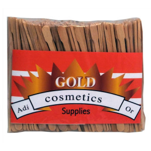 Gold Cosmetics & Supplies Gold Cosmetics and Supplies (300- Pieces) EXTRA SMALL WAXING STICKS Wax Applicators for Hair Remov