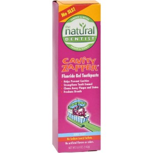 Natural Dentist Child Sparkle Toothpaste, Berry Blast, 5 Ounce