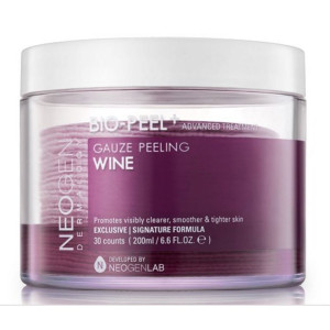 NEOGEN DERMALOGY BIO - Peel Gauze Peeling Wine 30 Count, 200ml