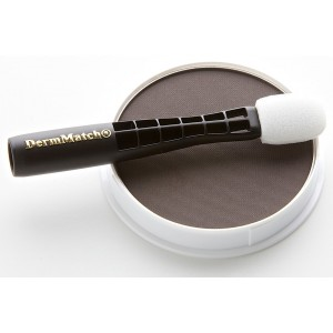 DermMatch Topical Shading: Water-Resistant, Natural Hair Loss Concealer (Dark Brown)