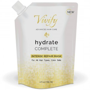 Vivify Hair Repair Treatment – Achieve Healthy Sexy Hair – Shampoo for Color Treated and Dry, Damaged Hair – Deep Conditioning Treatment for Split Ends and Frizz – Bold Volume and Shine