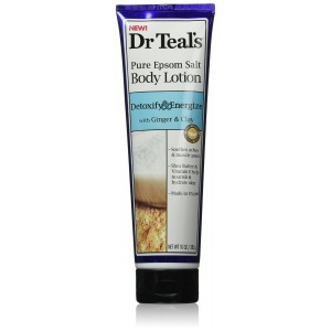 Dr. Teal's Lotion, Detox Ginger and Clay, 10 Ounce
