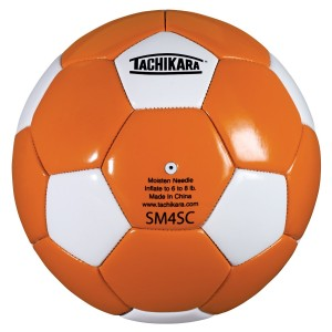 Tachikara SM4SC Dual Colored Soft PU Soccer ball (Size 4)