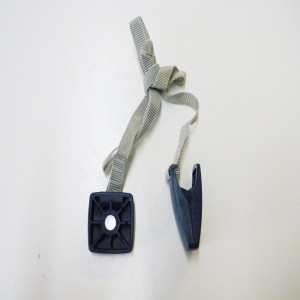 Treadmillpartszone Treadmill Safety Key Square Blue 245920