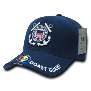 Rapid Dominance Rapiddominance Coast Guard The Legend Military Cap, Navy