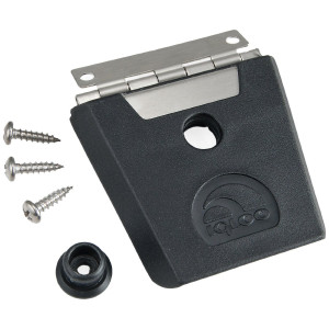 Igloo Hybrid Stainless and Plastic Latch (Black/Silver)
