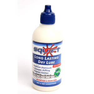 Squirt Long Lasting Dry Lube, 4 oz bottle