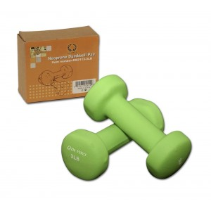 Da Vinci Pair of Neoprene Dumbbells with Non-Slip Grip, Choose Your Dumbbell Weight