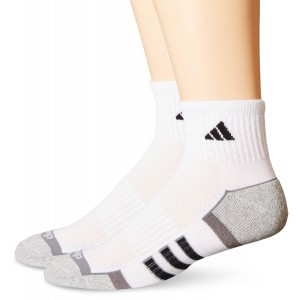 adidas Men's Climalite II Quarter Sock (2-Pair)