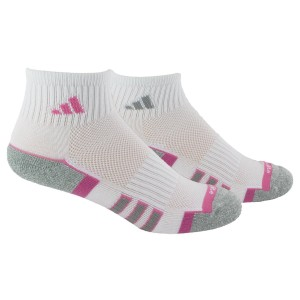adidas Women's Climalite II 2-Pack QTR Sock