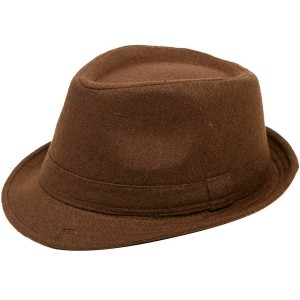 Simplicity Unisex Timelessly Classic Manhattan Fedora Hat