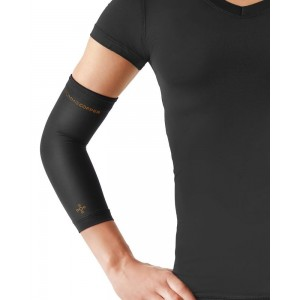 Tommie Copper Women's Recovery Vantage Elbow Sleeve, Black, X-Large