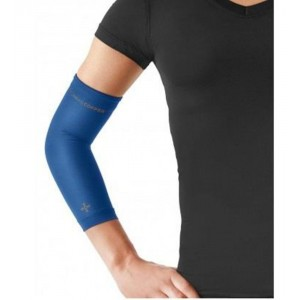 Tommie Copper Women's Recovery Vantage Elbow Sleeve, Cobalt Blue, Medium