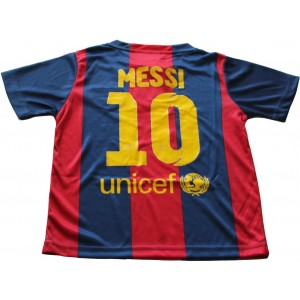 FCB 2014/2015 FC BARCELONA HOME LIONEL MESSI 10 FOOTBALL SOCCER KIDS JERSEY (8-9 YEARS)