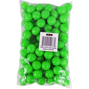 "Fairly Odd Novelties 3/4"" Mini Ping Pong/Table Tennis/Beer Pong Round Balls (100 Pack), 19mm, Green"