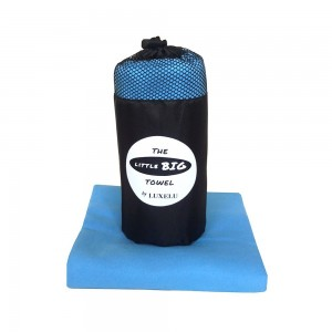 Premium Microfiber Sports Towel / Travel Towel - Fast Drying LITTLE BIG Towel by Luxelu - Available in XL, Large and Mini
