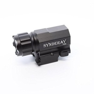 SyndeRay P05 CREE LED Tactical Gun Flashlight 2-Mode 600LM Pistol Handgun Torch Light for Hiking,Camping,Hunting and Other Indoor/Outdoor Activities