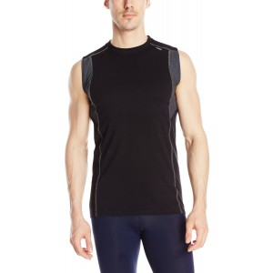 tasc Performance Men's Charge Sleeveless Moisture Wick Performance Tech Tee Tank