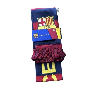 RHINOXGROUP FC Barcelona Authentic Official Licensed Soccer Scarf