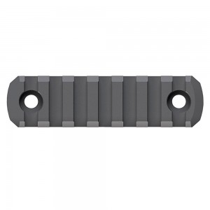 MAGPUL INDUSTRIES CORPORATION Magpul Industries 7 Slots M-LOK Rail Section Fits M-LOK Hand Guard, Black