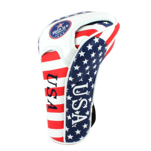 Craftsman Golf Stars and Stripes American USA Flag Driver Cover For Taylormade Titleist Callaway P