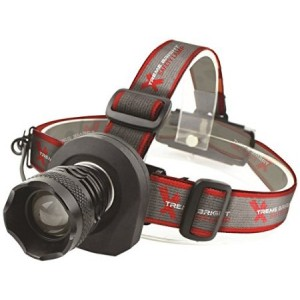Xtreme Bright Safety Headlamp - Great Addition to Camping and Hiking Equipment - Reliable LED Flashlight or Portable Work Light