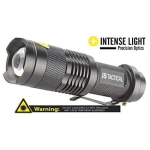 J5 Tactical Flashlight - The Original 250 Lumen Ultra Bright, LED Mini 3 Mode Flashlight