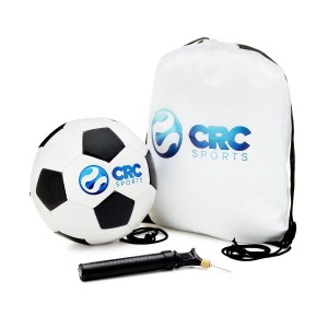 CRC Sports Soccer Ball Size 4 for Kids, Bag, and Pump Included - Lifetime Guarantee
