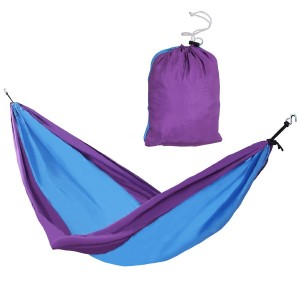 Songmics Parachute Camping Hiking Backpacking Hammock Indoor Swing Bed Portable Lightweight 118'' x 55'' UGDC30L