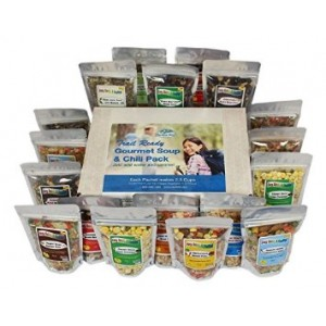 Harmony House Foods, Trail Ready Gourmet Soup and Chili Pack, 18 Zip Pouches