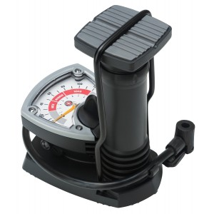 Schwinn Foot Activated Floor Pump with Gauge