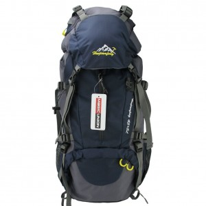 Generic Deluxe Travel Backpack Hiking 45+5L with Rain Cover