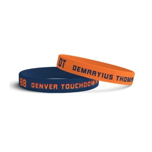 Demaryius Thomas Official Store Men's Denver Wristbands 2 Pack