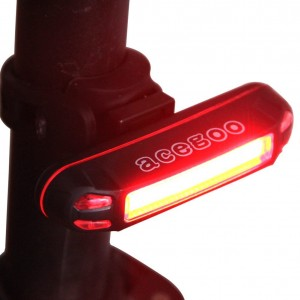 Acegoo Usb Rechargeable Led Bike Tail Light Bicycle Safety Rear Light Cycling Flashing Taillight S