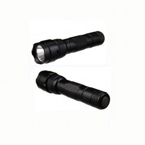 Skysted WF-502B Cree XM-L2 U2 U3 LED Single Mode 1200 Lumen Mini Portable Tactical Clip Handheld Flashlight Torch Lamp,for Outdoor Sports and Indoor Activities (Camping, Hiking, Hunting , etc.) (Black)