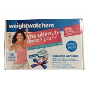 Weight Watchers The Ultimate Dance Party With Firming Sticks