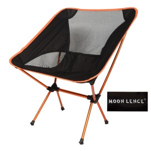 Moon Lence Outdoor Ultralight Adjustable Folding Chair with Carrying Bag Heavy Duty 242lbs Capacity Chair for