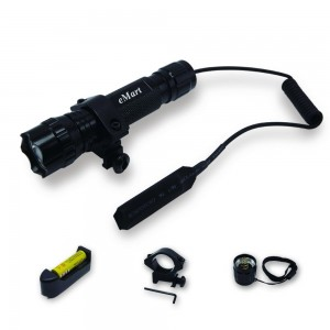 E-MART eMart WF-501B XM-L T6 1000 Lumens Riding Bicycle Bike Hunting LED Flashlight Torch Tactical Flash